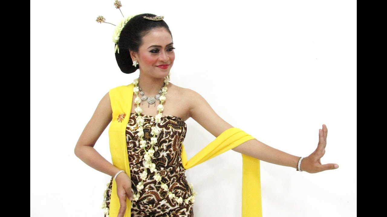 Tari Gambyong Yogyakarta Tari Gambyong Kostum Make