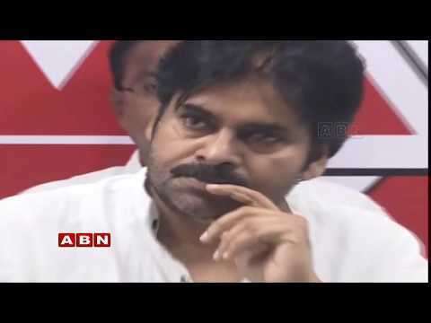 Janasena Chief Pawan Kalyan Press Meet in VIjayawada Live | ABN Telugu