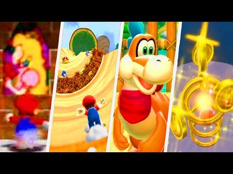 Evolution of Slides in Super Mario Games (1996 - 2017)