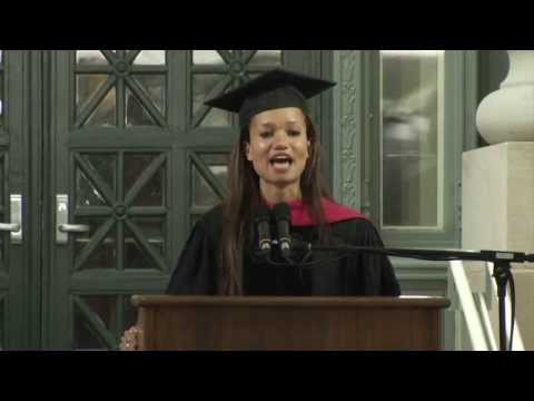 J.D. Speaker Josie Helen Duffy speaks at HLS 2013 Commencement