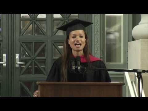 J.D. Speaker Josie Helen Duffy speaks at HLS 2013 Commencement