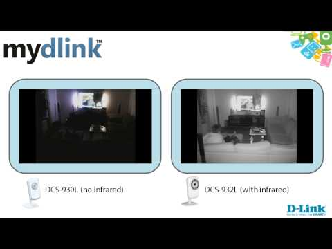mydlink camera comparison between DCS-930L and DCS-932L
