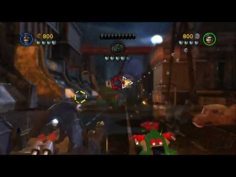 LEGO Batman 2 DC Super Heroes Walkthrough - Part 4 - Chemical Signature (Wii U, Xbox 360, PS3)