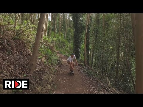 """Tyler Quigley's """"Forest Run"""" - Skating in Nature"""