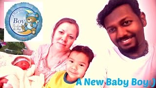 "My Baby Son Is Born. A short diary ""VLOG"" from a father perspective!!!"