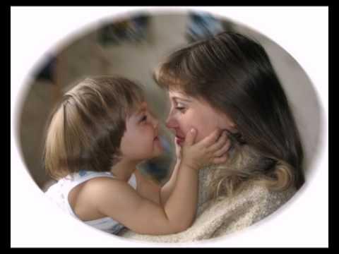 Мама, без ума тебя люблю Я