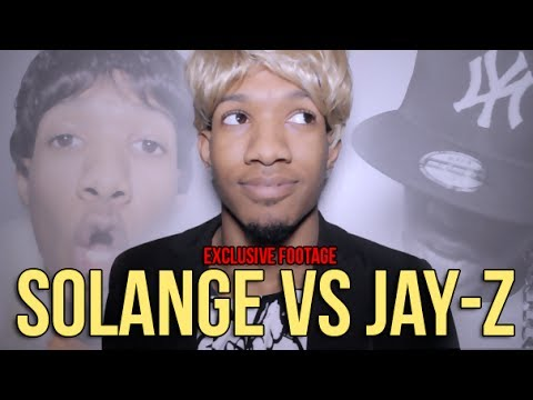 Jay Z Physically Attacked By Beyonce's Sister Solange: Response Video