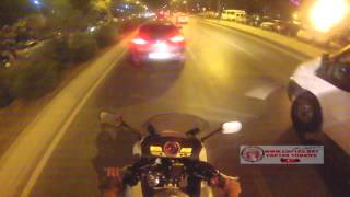 2012 Honda CBF1000 Night Ride with GoPro Hero3 HD