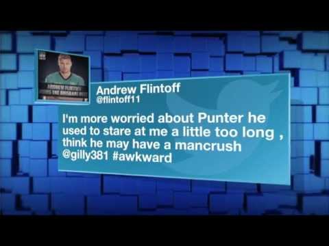 Adam Gilchrist and Ricky Ponting talk about Andrew Flintoff in the Big Bash League