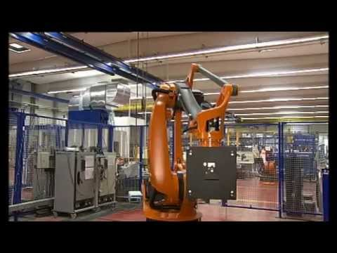 How industrial robot is made?