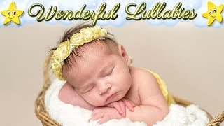 Super Relaxing Baby Lullabies Collection ♥ Soft Calming Bedtime Music For Kids Adults ♫ Sweet Dreams