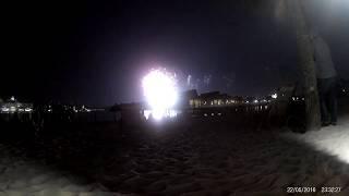 Wishes Firework Display Filmed from Polynesian resort