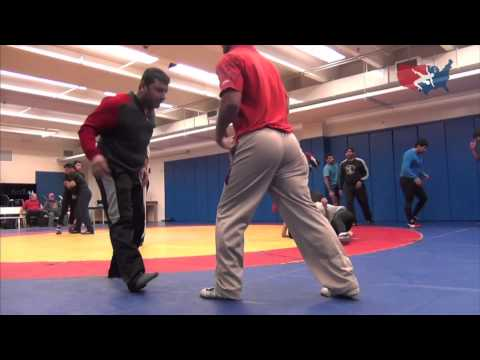 Greco-Roman practice with Sweden and India - Highlights Image 1