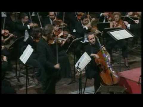 Carmignola- Brunello BRAHMS DOUBLE CONCERTO 1'movement 1part