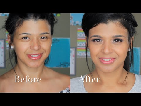 In depth Full Coverage Foundation Routine using Mary Kay Products|