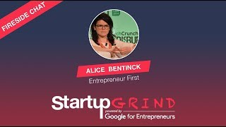 Alice Bentinck, Founder of Entrepreneur First at Startup Grind London
