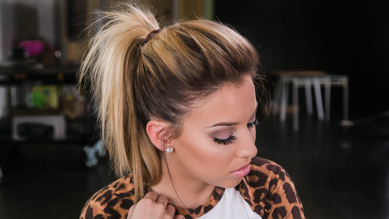 How To The Perfect Ponytail Youtube