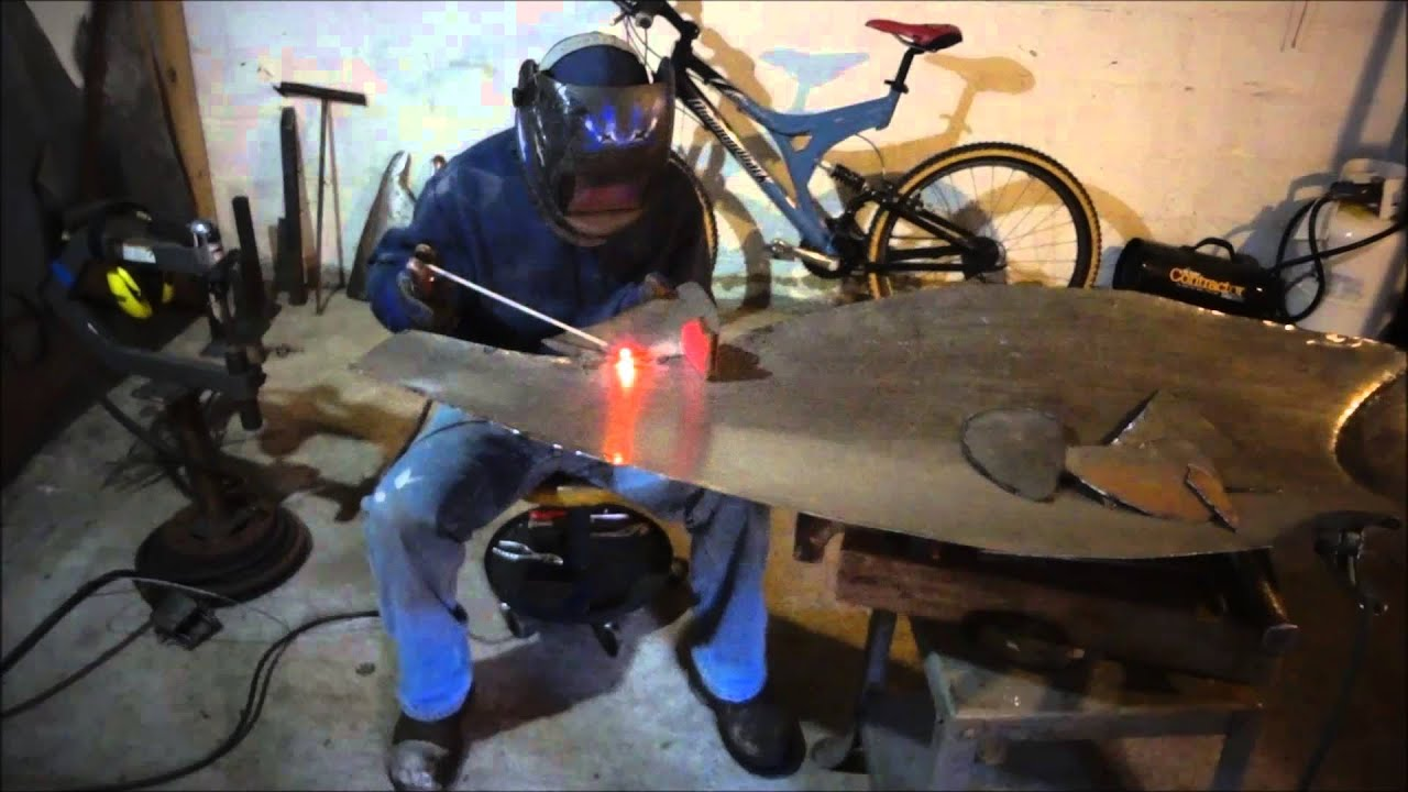 How To Make A Steel Sculpture Sockeye Salmon How I Make