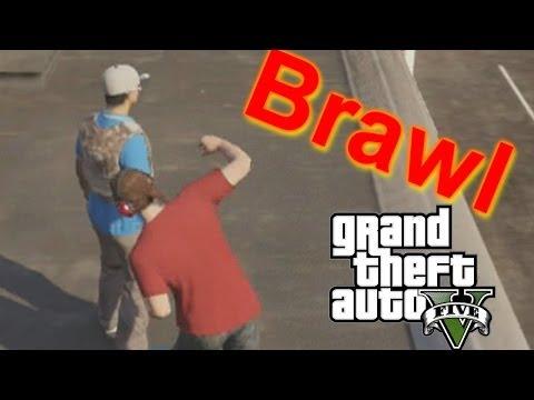 GTA V | Huge Online Brawl