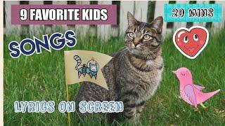 9 FAVORITE KIDS SONG | With Lyrics