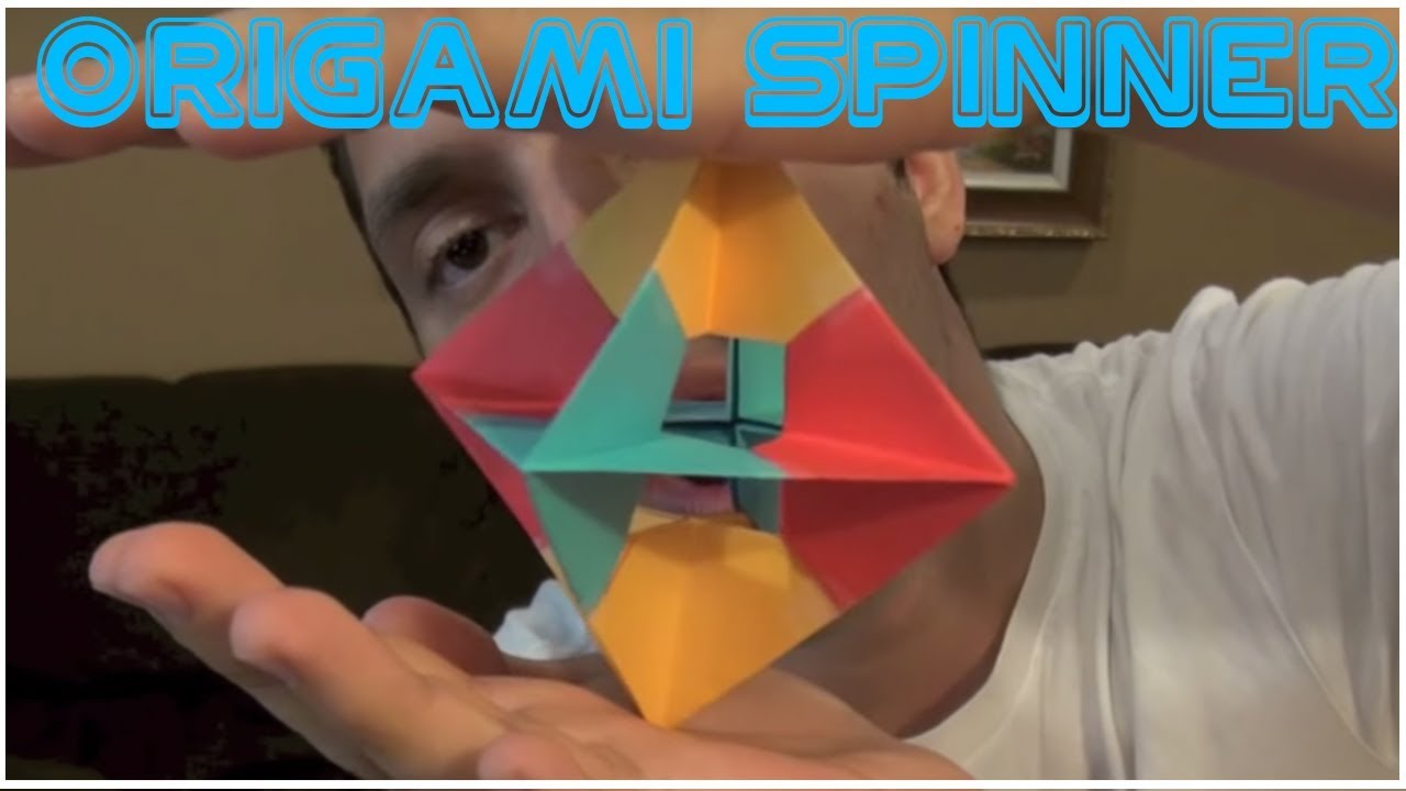 origami spinning windows robs world youtube