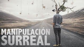 Efecto Surrealista Tutorial Photoshop en Español PSD Box