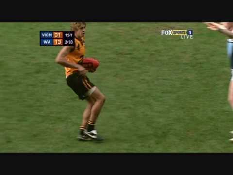 Stephen Hill - 2008 AFL U18 Championships - July 9th