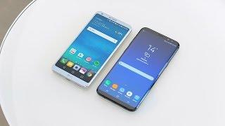Samsung Galaxy S8+ vs LG G6 - Full Comparison