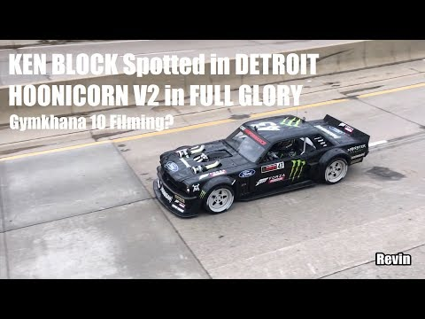 Slides & Sounds: Filming GYMKHANA TEN 10 in DETROIT KEN BLOCK w/ HOONICORN V2