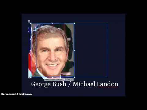 George W. Bush is actor Michael Landon