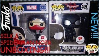 Pop hunt Silk & Spiderman Noir plus unboxing