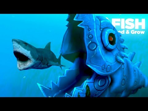 NEW MECHA KILLER FISH!!! - Fish Feed Grow | Ep 22