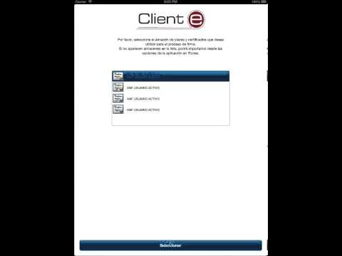 @firma Client running from Apple iOS Web Browser