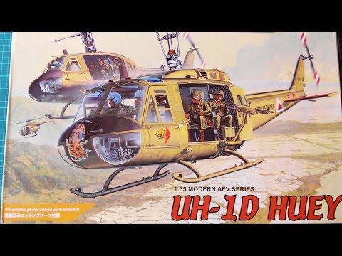Inbox Review - Dragon Kit #3538. UH 1D Huey