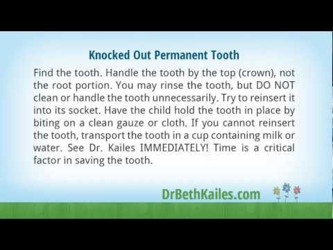 Pediatric Dental Emergency First Aid Tips