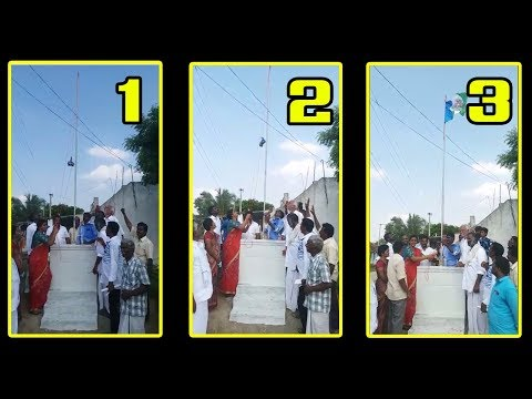 Roja Hoisting YSRCP Flag | Roja Latest News | YS Jagan Padayatra Got Success In AP | Indiontvnews