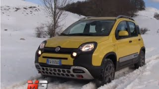NEW FIAT PANDA CROSS 2015 - FIRST OFFROAD TEST DRIVE - SNOW AND MUD