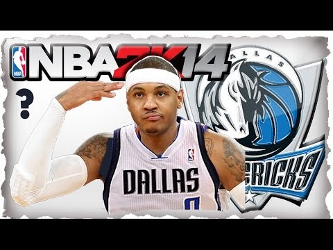 CARMELO ANTHONY TO DALLAS?! - 2014 DRAFT + FREE AGENCY - NBA 2K14 Dallas Mavericks MyGM Ep.1