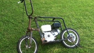 "Minimoto Casera 6.5 Hp - Homemade Mini Bike || ""Part 1"""