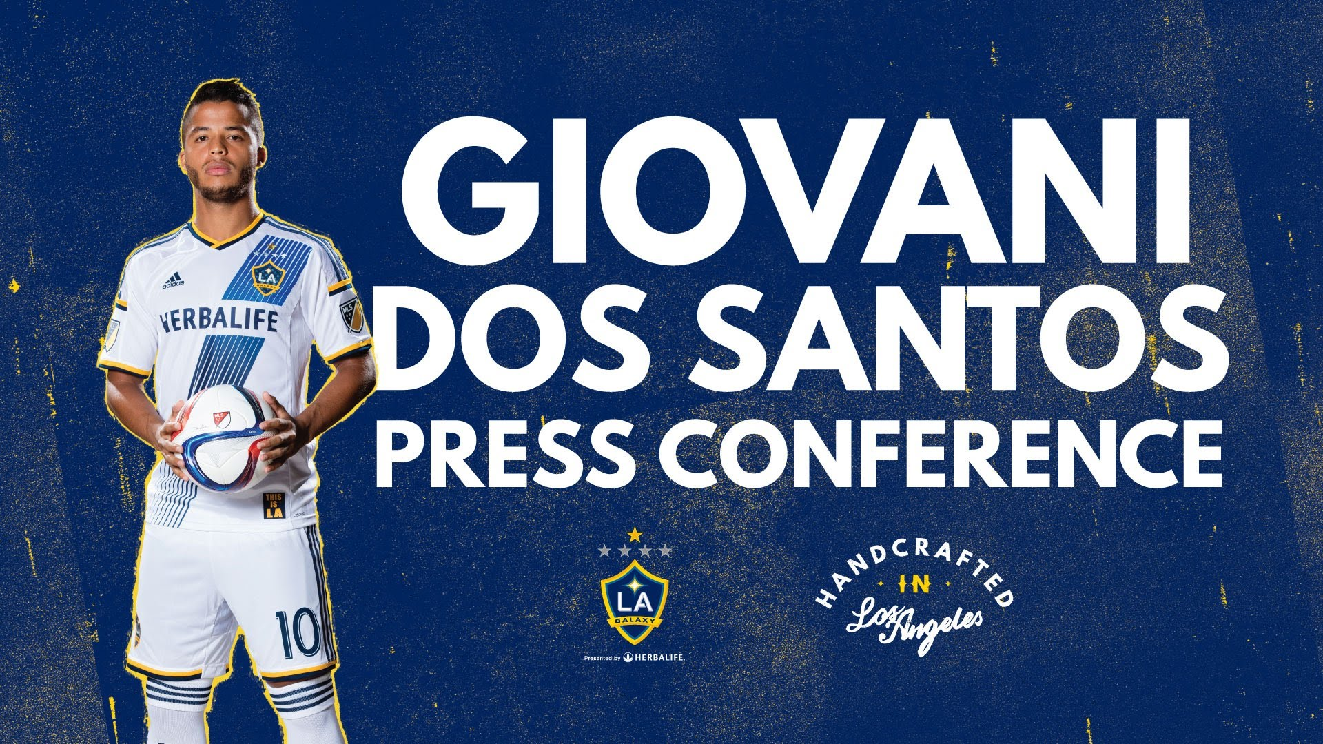 LA Galaxy's Giovani dos Santos Press Conference