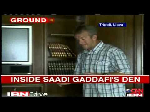 Libya: inside Saadi Gaddafi's den