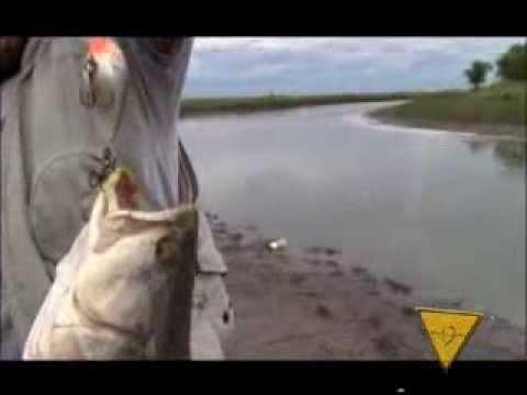 La Ruta del Pescador 13/3/14 bloque 3 pesca en Saladillo