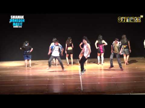 Second Hand Jawani -  Shiamak's Monsoon Masti Batch  - Mumbai 2012 video