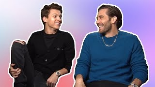 Download Song tom holland & jake gyllenhaal having the best (b)romance for 7 min straight Free StafaMp3