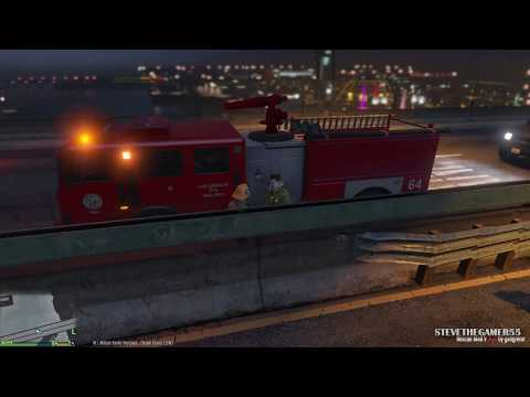 GTA 5 - Rescue Mod V - FIREFIGHTER - (GTA 5 Rescue Mod PC MODS)