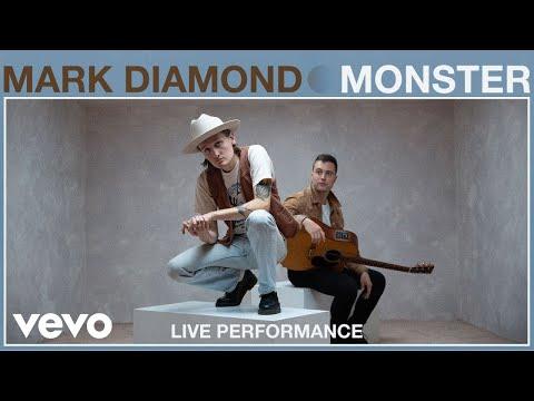 "Mark Diamond - ""Monster"" Live Performance | Vevo"