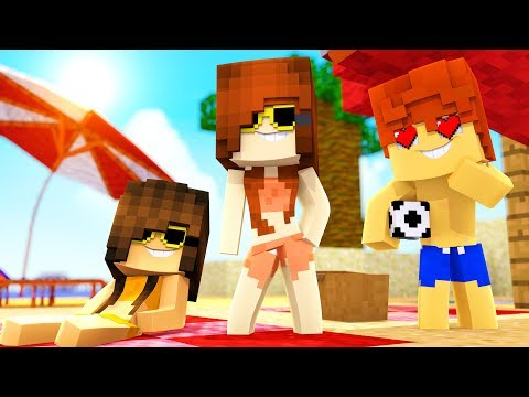 Minecraft Daycare - Beach Crush ! (Minecraft Roleplay)