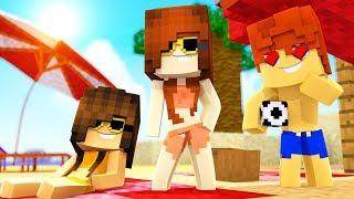 Minecraft Daycare - Beach Crush ! (Minecraft Roleplay)