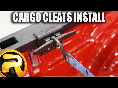 How to Install Extang Cargo Cleats