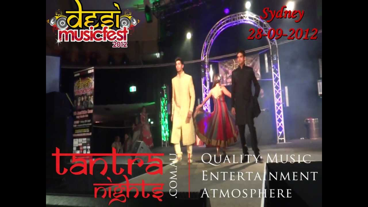 Fashion Show Music Tracks Indian Indian Fashion Show at Desi
